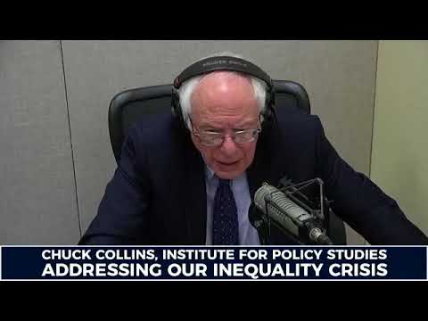 The Bernie Sanders Show: Chuck Collins of the Institute for Policy Studies on social equality