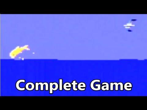 Fathom Atari 2600 Complete Game Gameplay - The No Swear Gamer