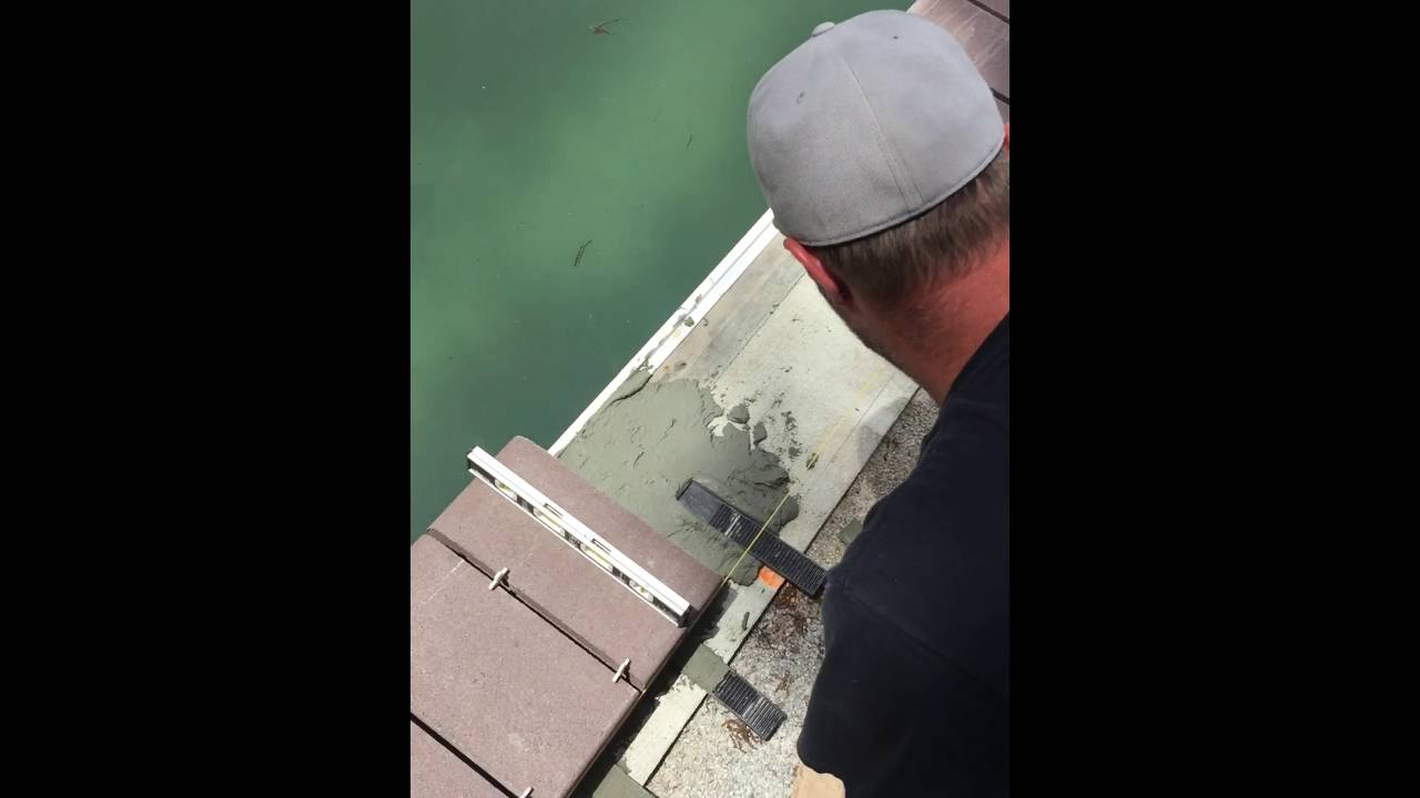 installation pool coping bullnose pavers - youtube