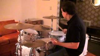 Drum Solo Workout on Buddy Rich Slingerland Classic Drumset-Ken Loomer