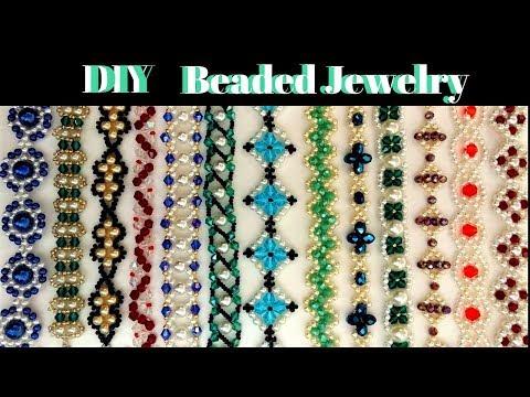 jewelry-making-tutorials.-diy-jewelry.-beads-jewelry-patterns.-beaded-bracelets