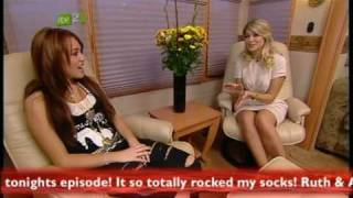 Miley Cyrus Interview on X Factor 11/29/08