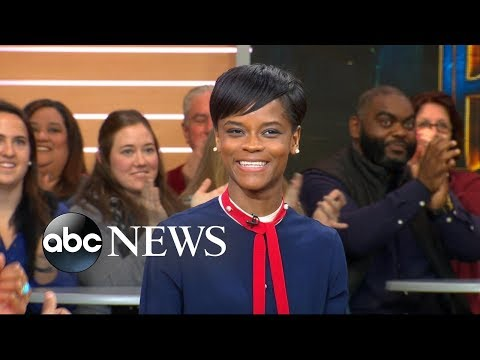 Download Youtube: Breakout star Letitia Wright opens up about 'Black Panther'