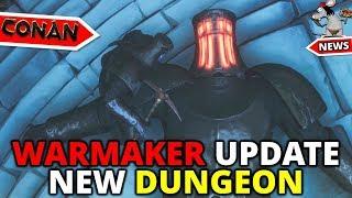 CONAN EXILES NEW DUNGEON - Warmaker Sanctuary Walkthrough - Test Live