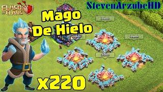 Mago De Hielo Nivel 9 x220 | Clash Of Clans | StevenArzube