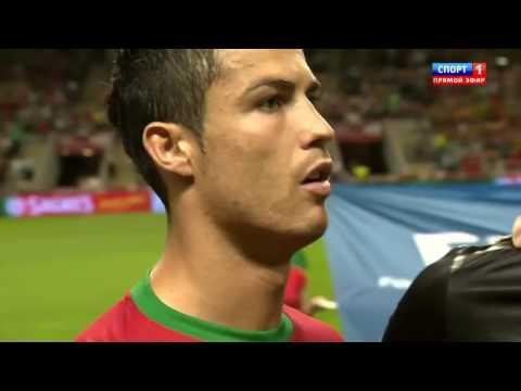 Ronaldo против  Азербайджана ( ЖЕСТЬ!)