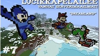 Minecraft: Vanhat serverimaailmat - S1E7 - Pyramiidi ja hirveet kyltit!