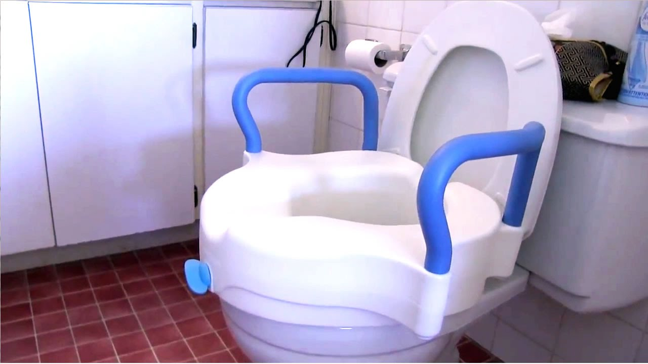 How to assemble and use the AquaSense 3 in 1 Raised Toilet Seat ...