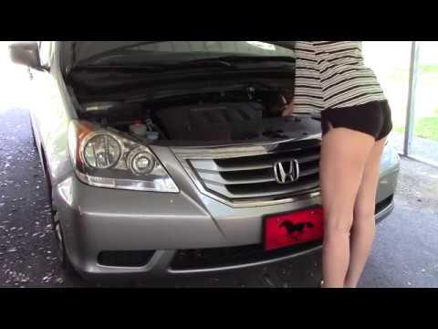 DIY 2010 Honda Odyssey Headlight Bulb - Low Beam Replacement