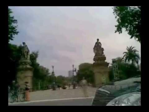 Barcelona bike travel interesting sites vol 1