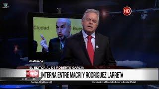 """Comentario editorial de Roberto García en su programa """"La mirada"""" - 20/11/17"""