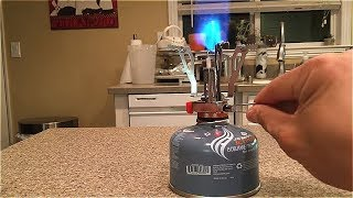 REVIEW: Jetboil Jetpower Fuel 100g -- How to use your camping/backpacking stove!!!!