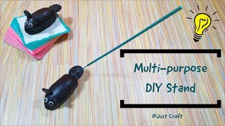 Multipurpose DIY Stand | Clay Art Stand | MSEAL stand | Ganpati Mouse | Agarbatti Stand | Just Craft