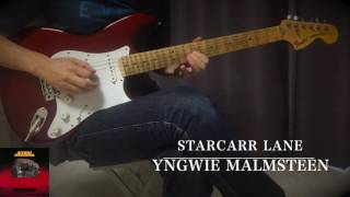 Yngwie - STARCARR LANE - Guitar Solo Cover Thank you for watching m...