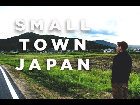 What It's Like Living In A Small Japanese Town