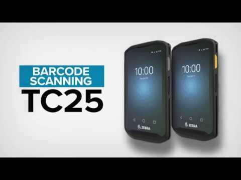 Zebra TC25 Rugged Smartphone - Barcode and Scanning