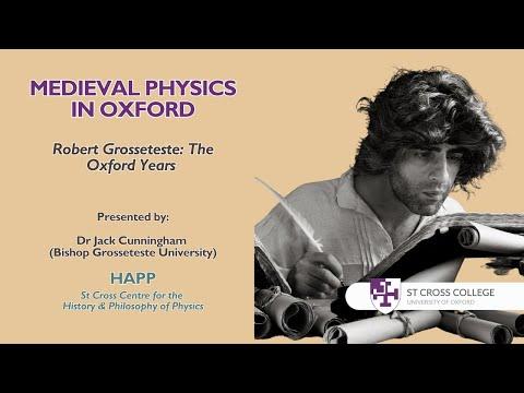 Medieval Physics in Oxford - HAPP Centre - Dr Jack Cunningham