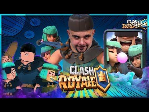 Clash Royale : Proviamo la Nuova Carte (i 3 Mascalzoni) 👍