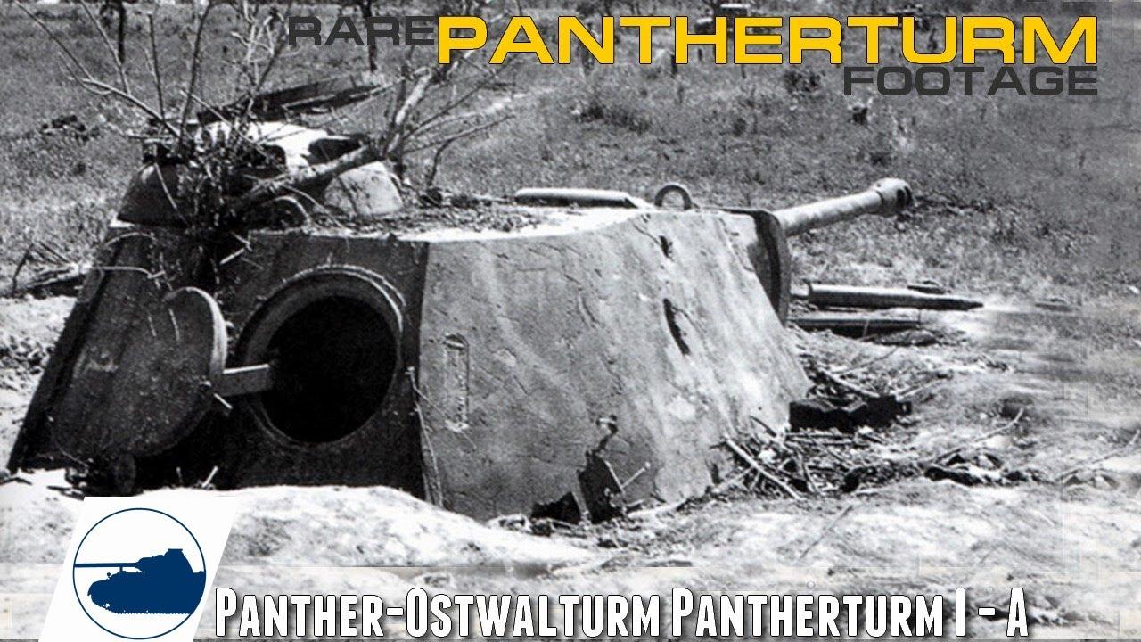 Download Rare WW2 Pantherturm - Panther-Ostwalturm I/A Footage.