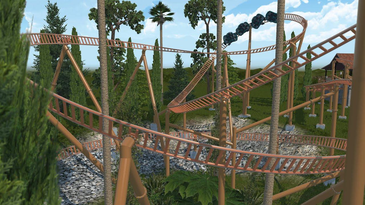 Sierra Sidewinder (Knott's Berry Farm) POV - Nolimits 2 ...