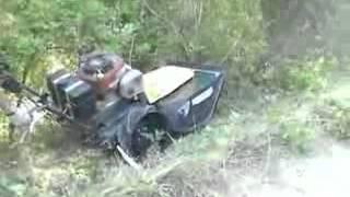 Repeat youtube video ΚΑΤΑΣΤΡΟΦΕΑΣ ΑΥΤΟΚΙΝΟΥΜΕΝΟΣ ECOTECH  Forestry mower TRT 110 Swing