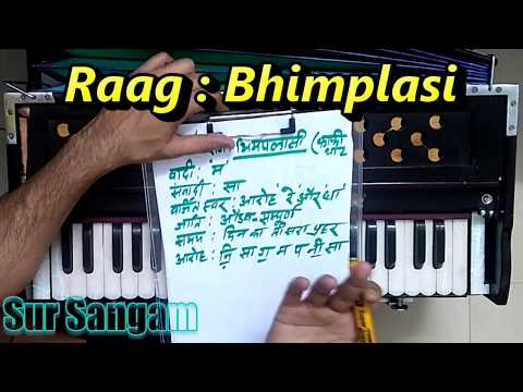 Raag bhimpalasi ja ja re apne mandirwa || Learn On Harmonium || Vocal || alap notation || Songs