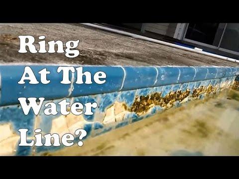 Calcium Hardness Ring Deposits In Pool Reduce Hard Water