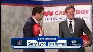 The Sunday Footy Show AFL (2013) - Lou's Handball Sam Newman vs Garry Lyon