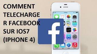 THEODUF TUTORIEL - Comment télécharger Facebook pour iPhone 4 iOS 7  en 2017