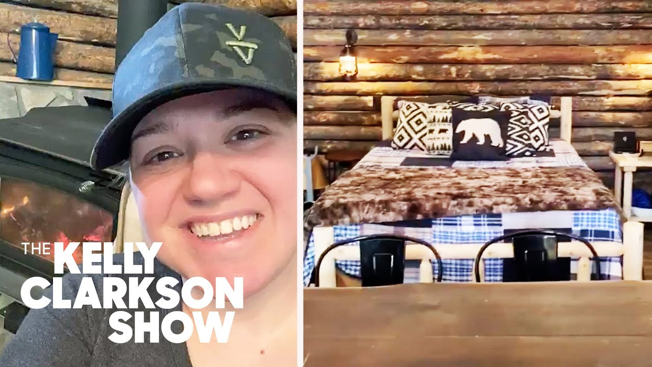Kelly Clarkson's Montana Cabin Tour | Digital Exclusive