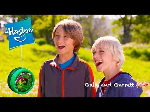 Gabe and Garrett get Blazing Team Toys! (ADVERTISEMENT)