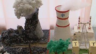 Мир без ядерных катастроф нарисовали ученики новосибирских школ