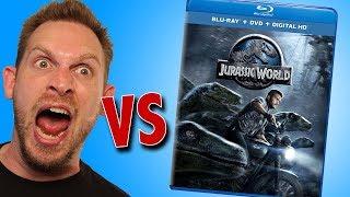 Jurassic World Blu-ray Unboxing