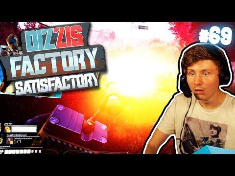 TNT & DAS ENDE VON DIZZIS FACTORY? | Let's Play Satisfactory #69 | izzi & Dner