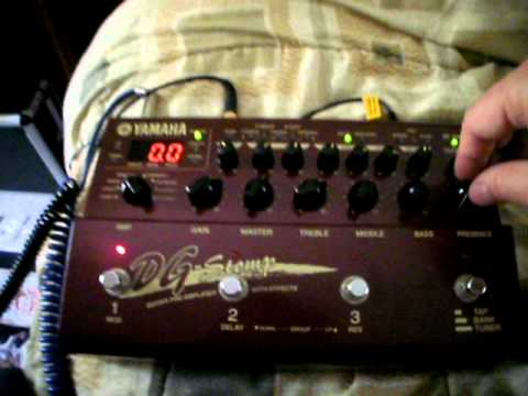 Yamaha DG Stomp - Part 2 of 3 - erratic LCD & LED cycling - Trashbay!