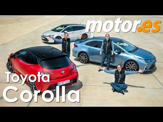 Toyota Corolla 2019 | Prueba de toda la gama
