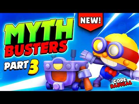 Hidden Secrets & Funny Glitches   Brawl Stars MythBusters #3