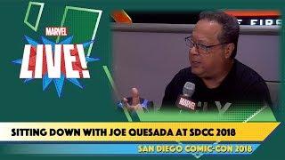 Sitting Down with Joe Quesada at SDCC 2018