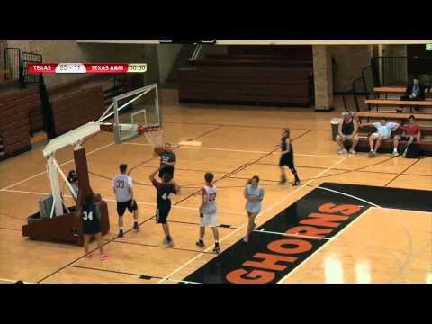 Texas v. Texas A&M - Intramural Co-ed Basketball