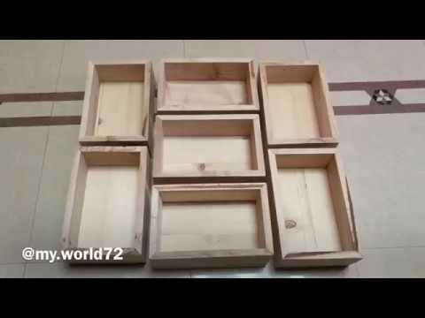 #woodworking #decor #diy  DIY Boxes for decoration