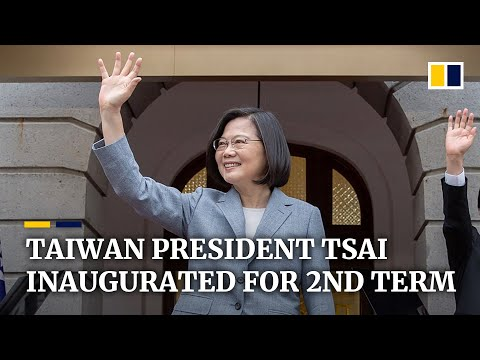 Tsai Ing-wen inaugurated for second term as Taiwan's president