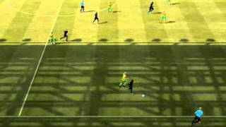 FIFA 12 Lennon Emmanuel Adebayor and Rafael van der Vaart Skills