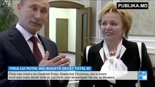PUTRED de BOGATĂ. Fiica lui Vladimir Putin are o avere mult mai mare decât tatăl ei
