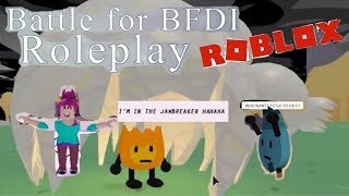 DANCING FIREY JR in BATTLE FOR BFDI ROLEPLAY| | ROBLOX ADVENTURE- PART 4