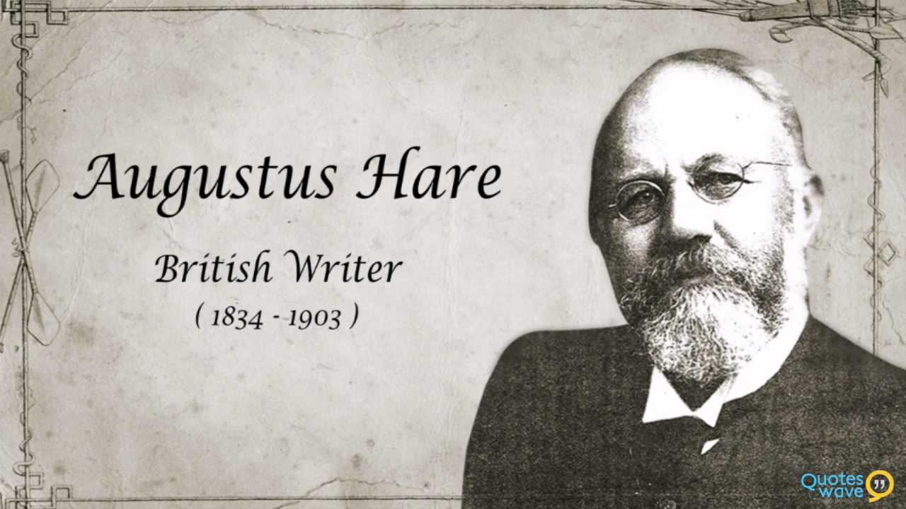 Image result for augustus hare