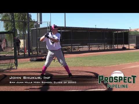 John Shukur Prospect Video, Inf, San Juan Hills High School Class of 2020