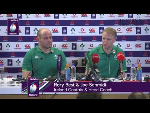 Joe Schmidt and Rory Best press conference after Scotland win | NatWest 6 Nations