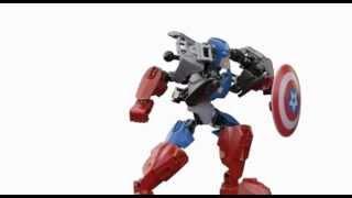 Lego 4597 - Lego Captain America - Lego 3d Review