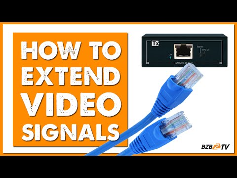 How to Extend a Video Signal over Long Distances