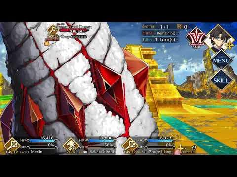 FGO Agartha - vs Demon God Phenex [Caster]